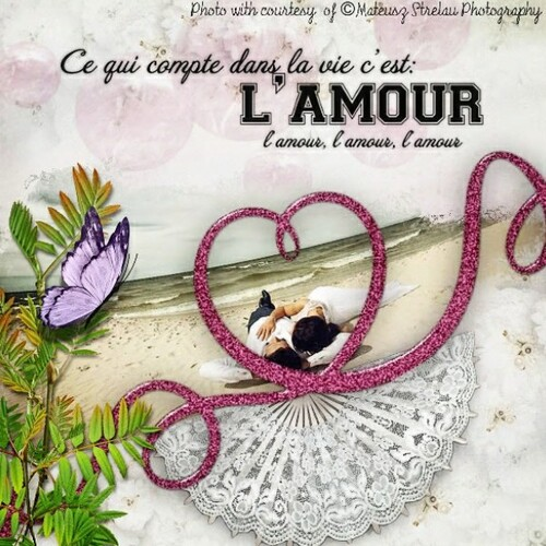 Tagger kit Tendre Amour