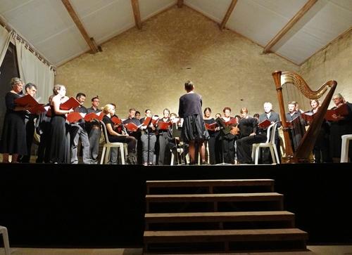 Le Chœur de Haute Côte d'Or a donné un très beau concert à Bon Espoir, le 27 septembre 2013