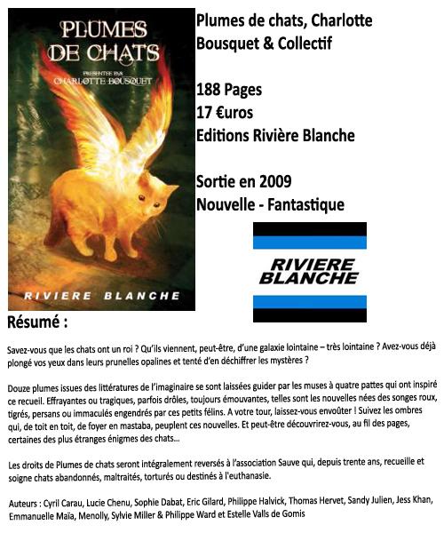 Plumes de chats, Charlotte Bousquet