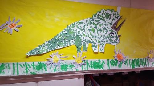 Le triceratops des PS de C.