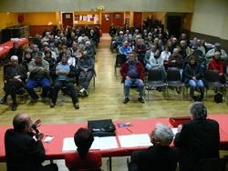 Les réunions publiques