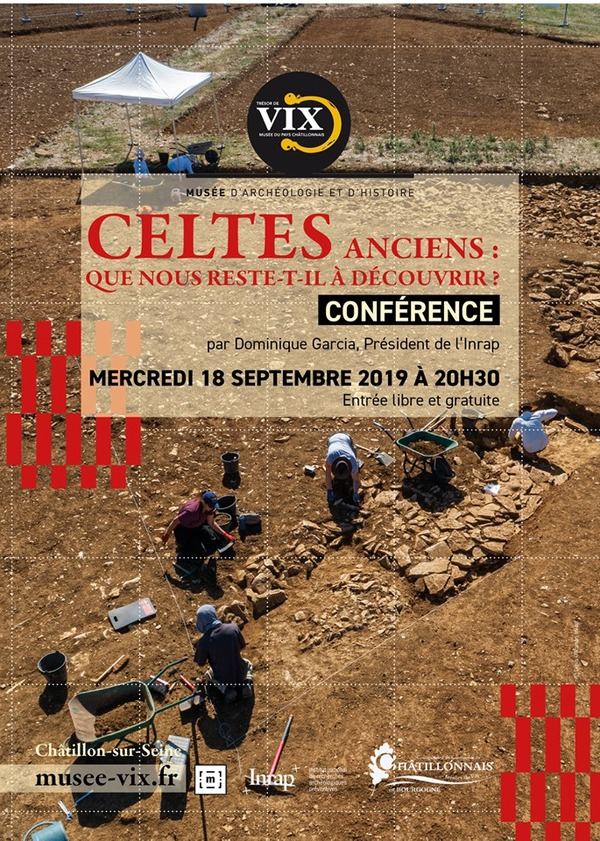 Dominique Garcia donnera une conférence sur ce qui nous reste des Celtes anciens actuellement...