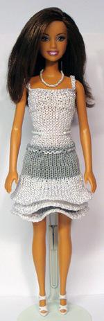 Barbie en robe estivale n° 896