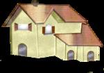 tubes maison chateau