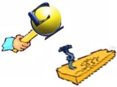 Logo CCE en forme de marteau