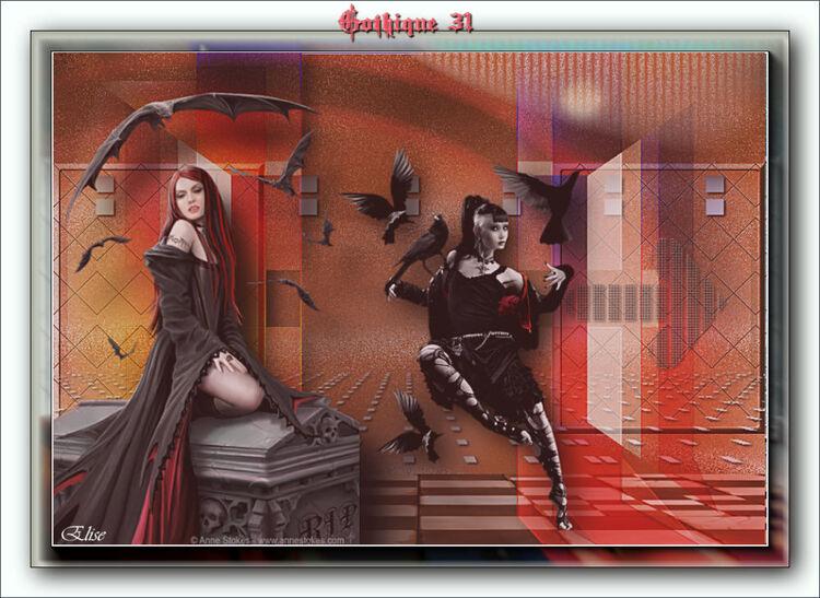 Gothique 33 de Renéegraphisme psp