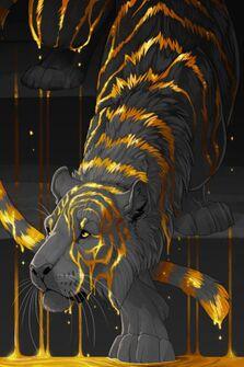 Molten Tiger by Butterhound: