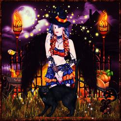 Nuit d' Halloween à la torche code inclu
