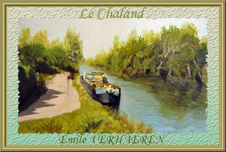 """""""Le Chaland """" poème d'"""