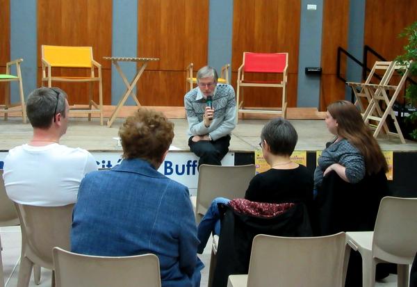 """""""La Bouquinerie"""", dans les coulisses des métiers du livre a attiré un nombreux public salle Paul Eluard, à Montbard"""