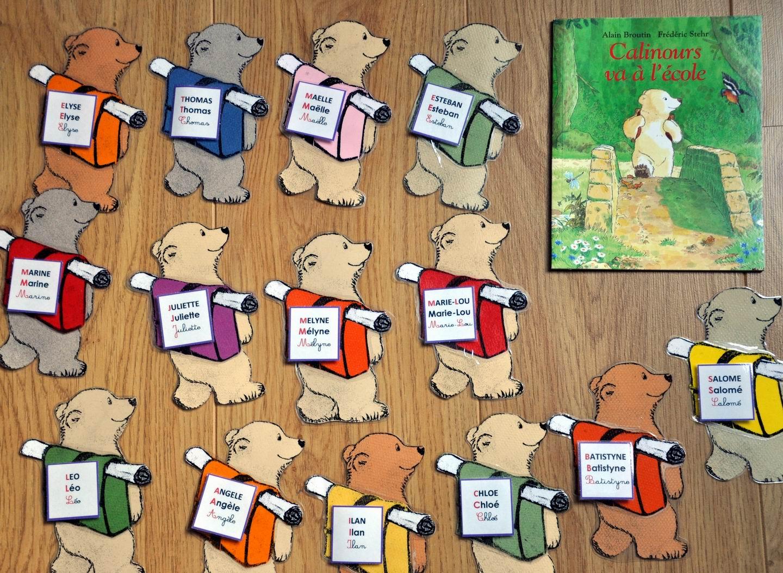 Ecole maternelle paul leygue. des ours en découpage