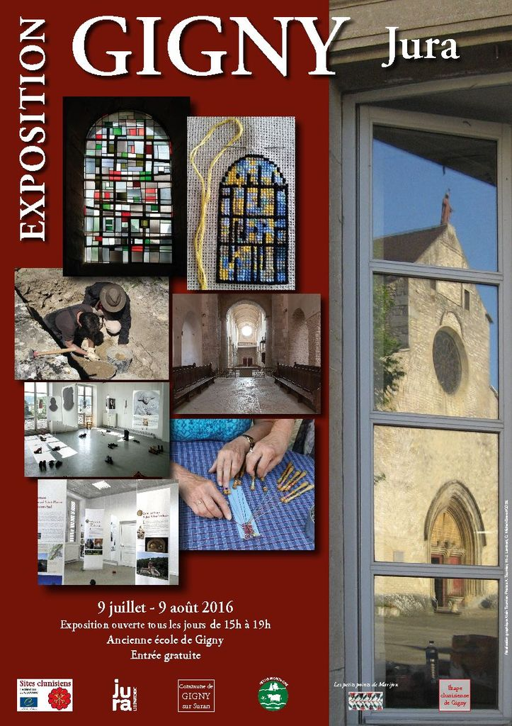 Exposition Atelier Pénélope Montrevel en Bresse 7,8,9 et 10 juillet 2016