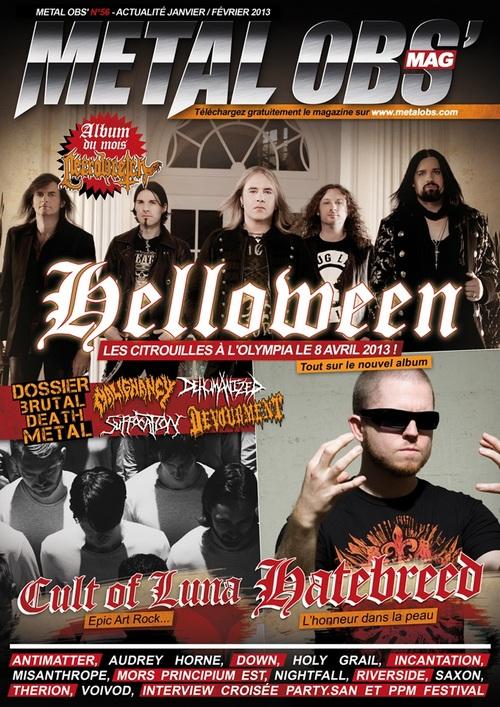 Metal Obs' Janvier-février 2013