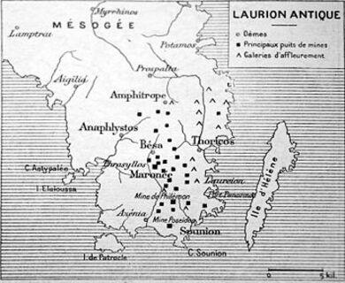 Il y a 150 ans... Mines antiques du Laurion