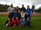 Moins de 6 de l'école de rugby du pays de Tulle