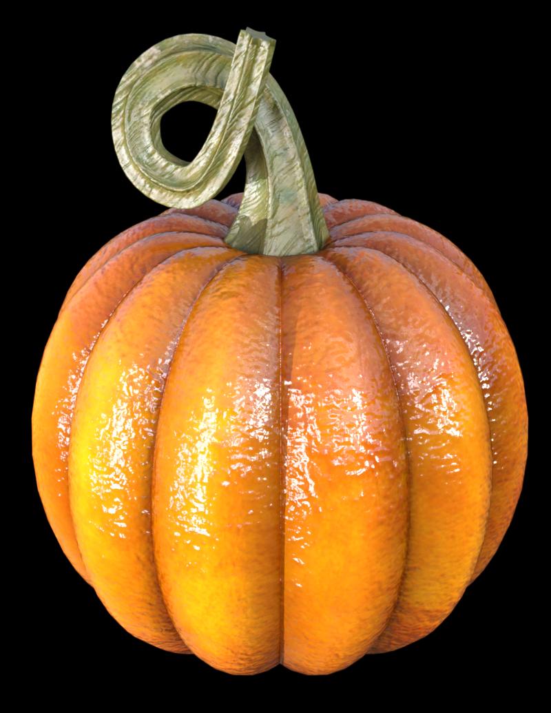 Tube citrouille d'Halloween (image-poser)