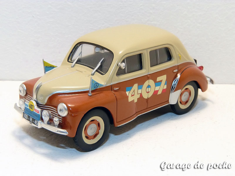 4cv tour de france automobile de 1951
