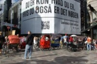 Copenhague-Strøget-Rickshaws