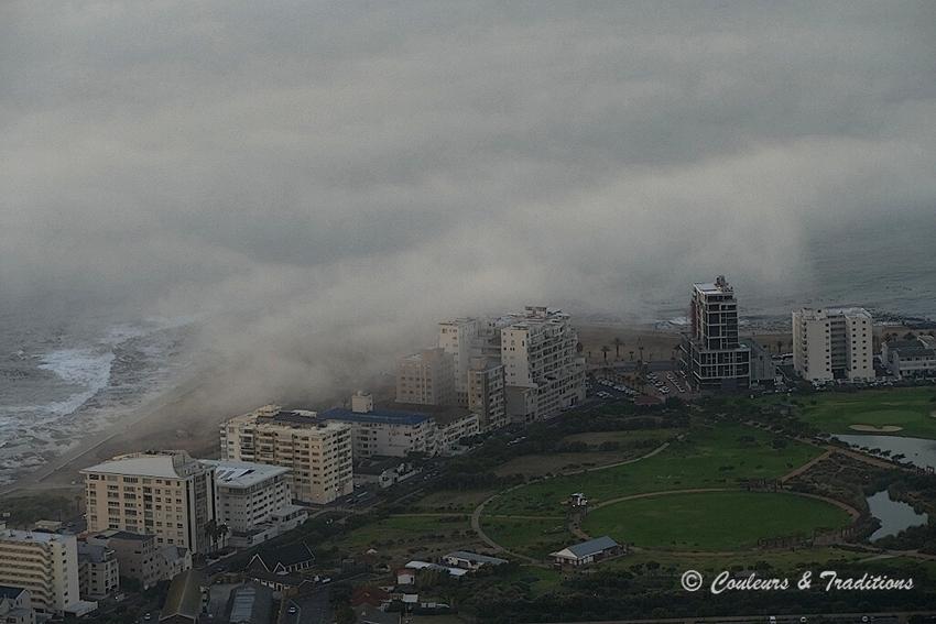 Au dessus des nuages à Cape Town