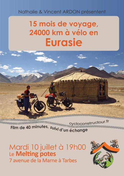 Les aventures de T&T à vélo en Eurasie