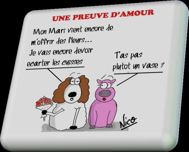 Une Preuve D'amour(Humour)