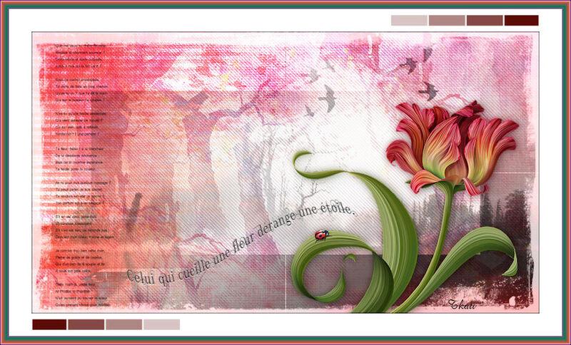 Douce fleur by Libellule
