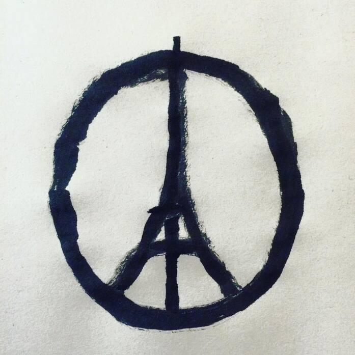 Peace for Paris, Jean Jullien