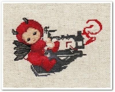 Little Stitch Devils on Sewing Machine-copie-1