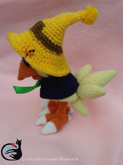 Chocobo au crochet (Final Fantasy )