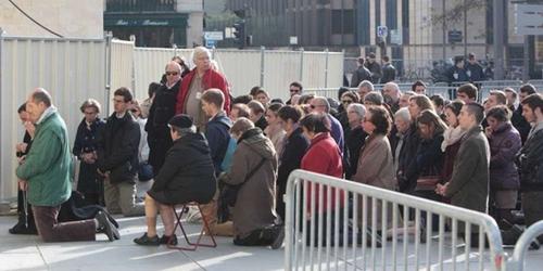 Prières de rue à Clichy et ailleurs