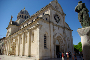 SIBENIK - CATHEDRALE SAINT JACQUES