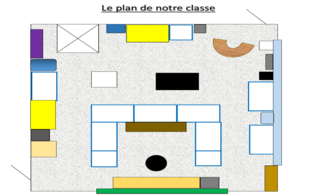 De la maquette au plan de la classe