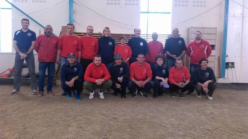 L'équipe du 2 ième tour de la Coupe de France 2017/2018.