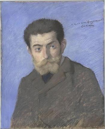 J.K Huysmans(par Jean-Louis Forain - Musée d'Orsay)