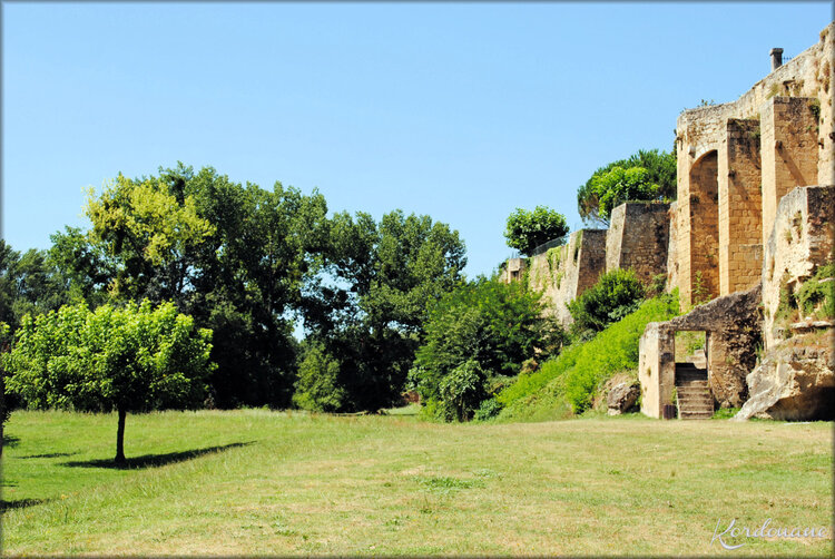 Photos des remparts de Saint-Macaire - Gironde