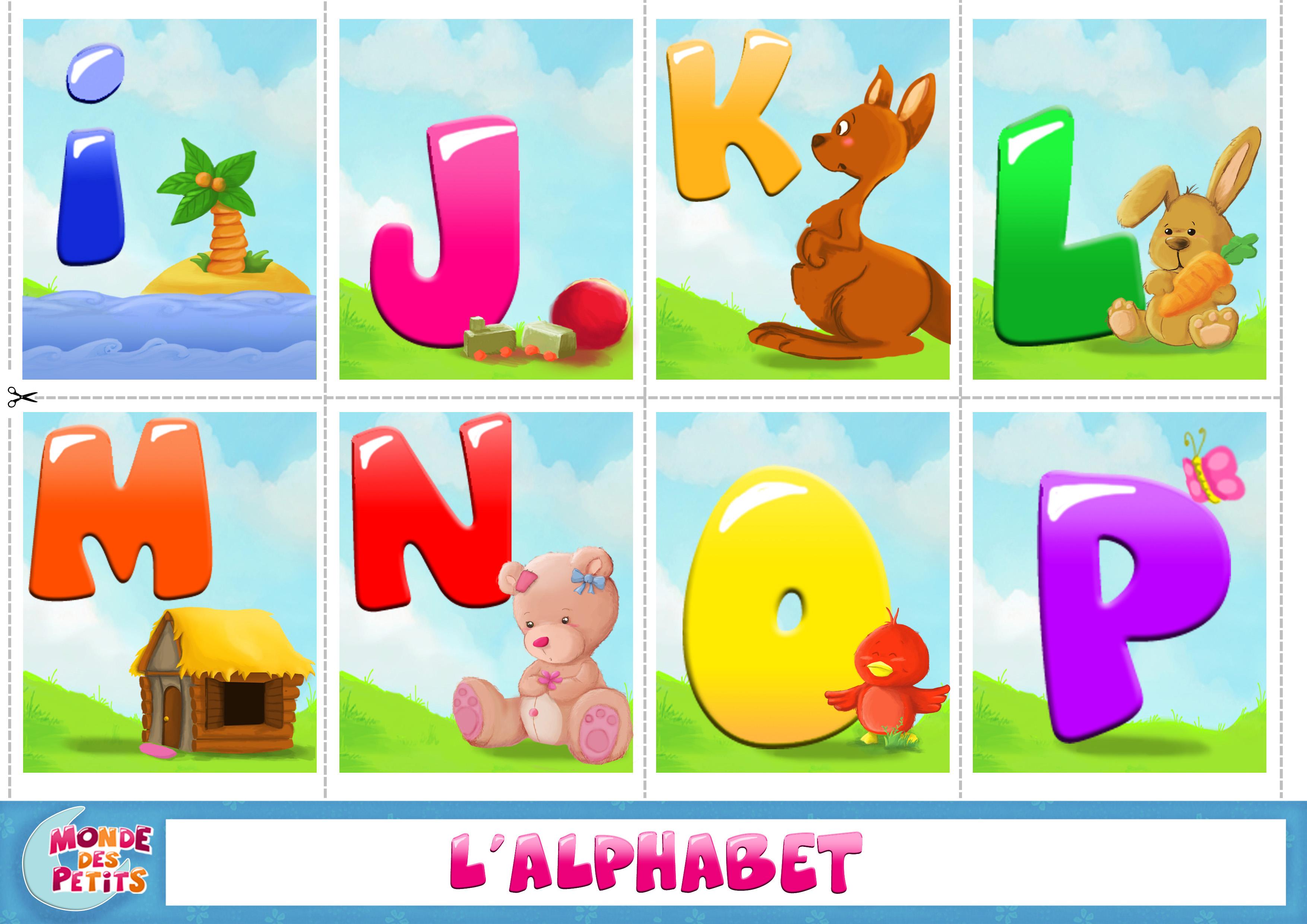 Pour apprendre l 39 alphabet le blog de kikyne - Alphabet francais maternelle ...