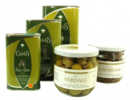 CASTELAS - l'huile d'olive de la vallée des Baux de Provence, AOC