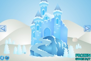 Jouer à Frozen Games - Elsa castle escape