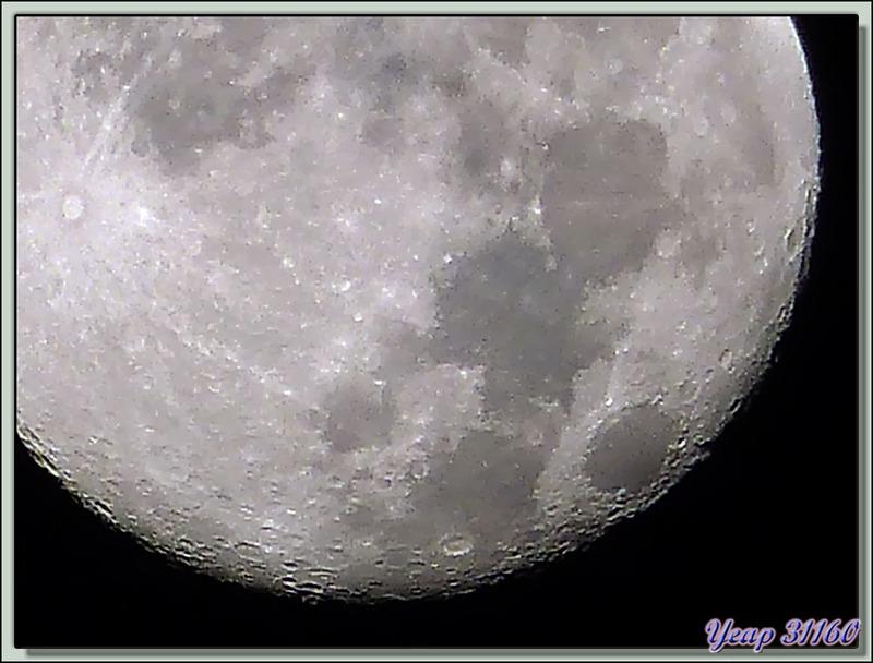 Madame la Lune en ce 21 septembre au matin, dernier jour de l'été - Milhas - 31