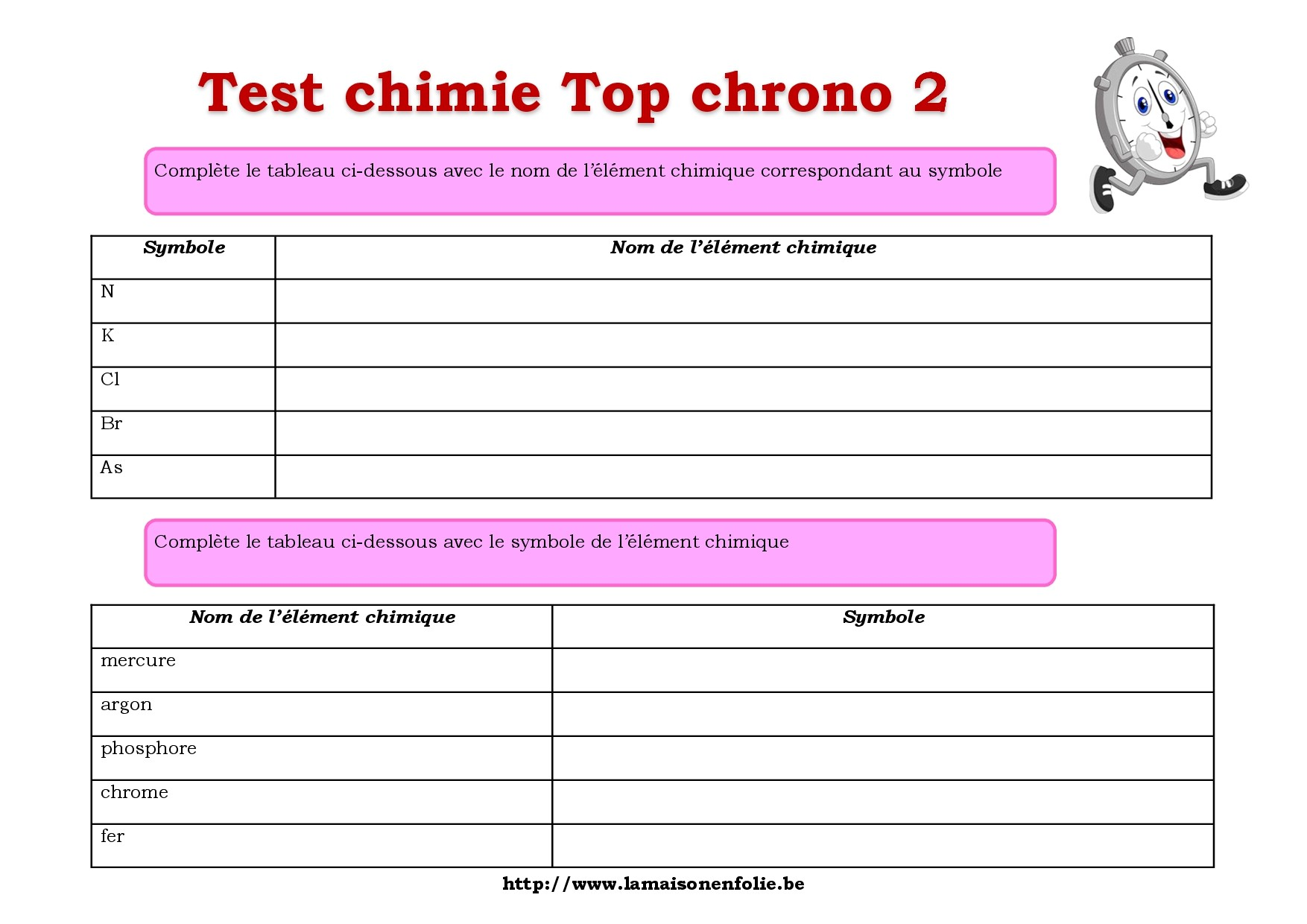 Test top chrono 2