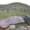 Le dolmen de Deskargahandiko Lepoa ou col du Grand Descarga (273 m)