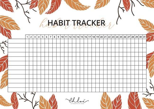 Habit & Mood Tracker de Chloé