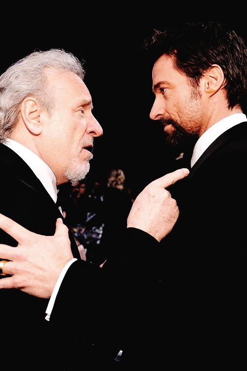 Colm Wilkinson et Hugh Jackman - 2013