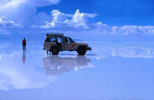 Gran Salar de Uyuni, Bolivie