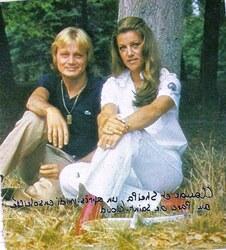 Septembre 1976, avec Cloclo