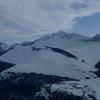 Du sommet du pic Barsaut, le pic de Moulle de Jaut