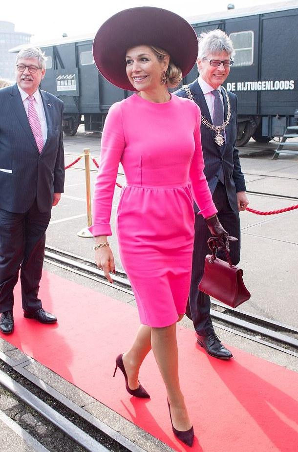 Maxima en rose flashy ! j'adore