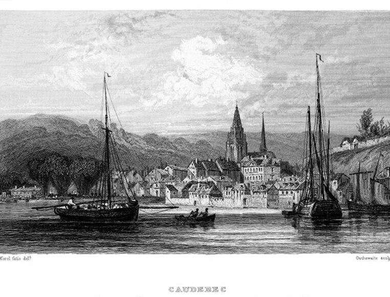LES REMPARTS DE CAUDEBEC-EN-CAUX (Seine-Maritime)