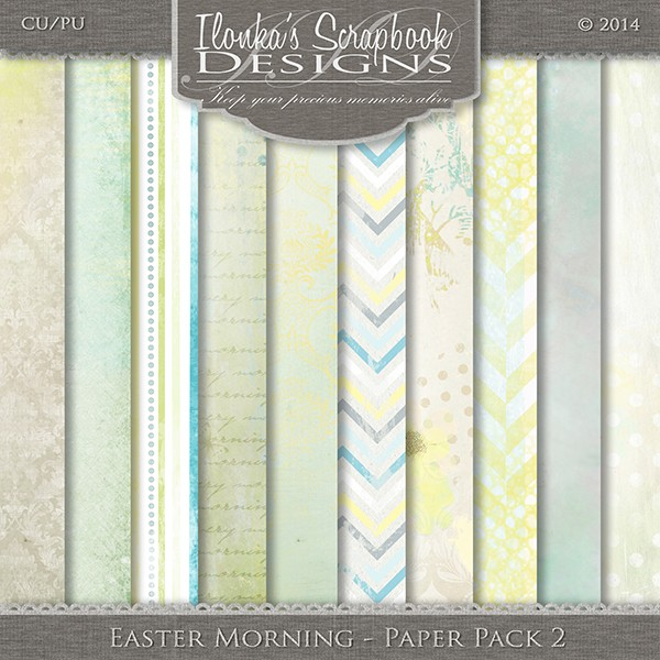 Easter Morning by Ilonka Scrapbook Designs