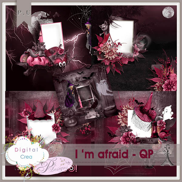 I'm afraid by Pli Designs